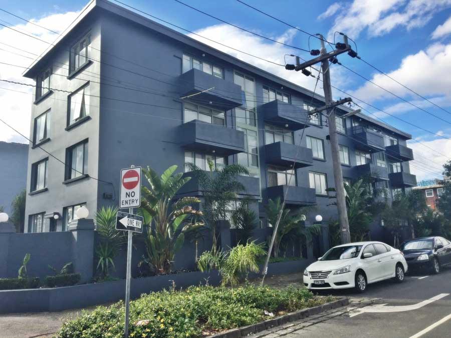 St Kilda Apartment Block